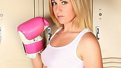 Ashley Vallone ready to knock you out!